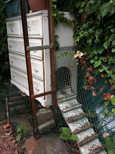 dresser chicken coop