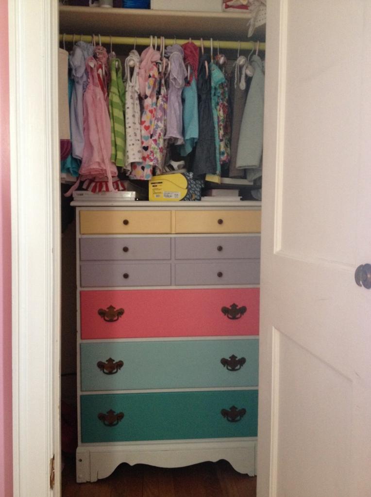 Lulie's dresser